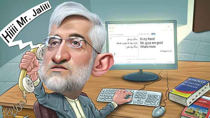 Ex-Negotiator Saeed Jalili Has Set Twitter on Fire