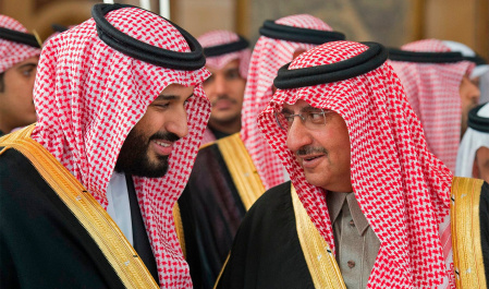 Bin Salman fears oppositions from royal family