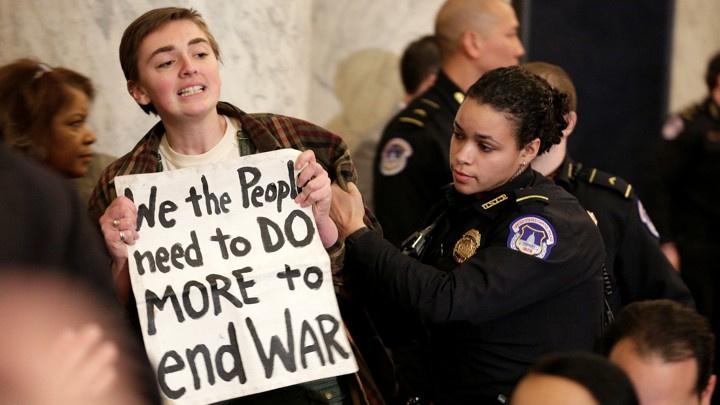 آمریکا به یک جنبش دائمی ضد جنگ نیاز دارد