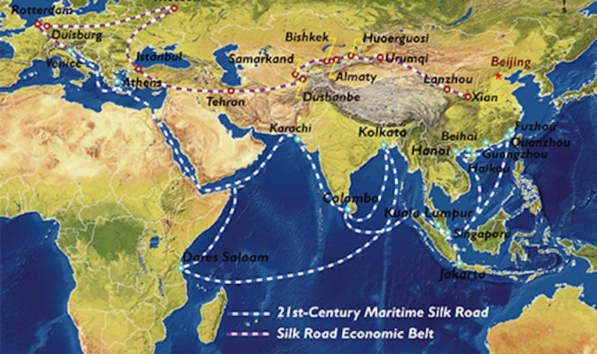 از «راه شاهی» ایران تا «جاده ابریشم» چین